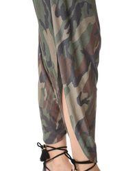 Haute Hippie Multicolor Harem Pants