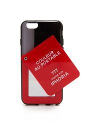 Iphoria - Red Couleur Au Portable Mirror Iphone 6 / 6s Case - Lyst