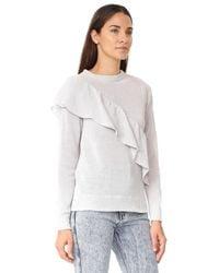 IRO - Gray Raja Sweater - Lyst