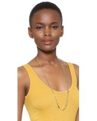 Jacquie Aiche - Metallic Ja Disco Belly Chain / Necklace - Lyst