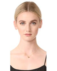 Jacquie Aiche - Metallic Eye Necklace - Lyst