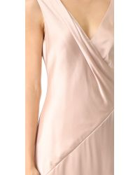 Jason Wu - Pink V Neck Cocktail Dress - Lyst