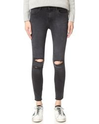 J Brand | Multicolor Photo Ready Cropped Mid Rise Skinny Jeans | Lyst