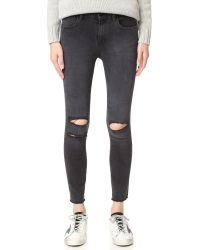 J Brand - Multicolor Photo Ready Cropped Mid Rise Skinny Jeans - Lyst