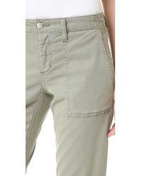 Joe's Jeans - Multicolor Flight Zip Ankle Pants - Lyst