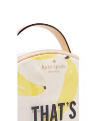 kate spade new york - Brown Banana Miri Cosmetic Case - Lyst