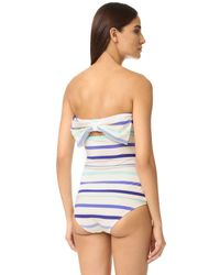 kate spade new york - Blue Provincetown Tank Bikini Top - Lyst