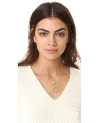 kate spade new york - Metallic Ring It Up Necklace Set - Lyst