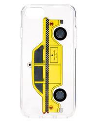 Kate Spade Multicolor Jeweled Taxi Iphone 7 Case