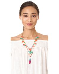 Kate Spade - Multicolor Garden Party Statement Necklace - Lyst