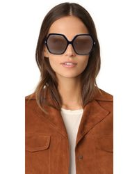 Kendall + Kylie - Black Ludlow Sunglasses - Lyst
