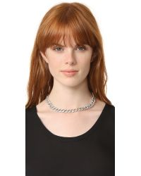 Kenneth Jay Lane - Multicolor Link Necklace - Lyst