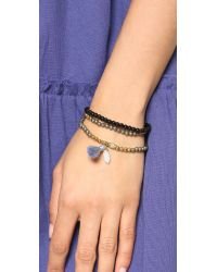 Lacey Ryan | Gray Double Wrap Bracelet | Lyst