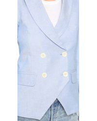 Laveer - Blue Kadette Blazer - Lyst