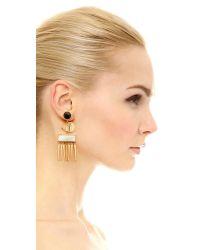 Lizzie Fortunato - Metallic Con Dao Earrings - Lyst