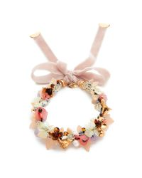 Lizzie Fortunato | Multicolor Velvet Garden Necklace | Lyst