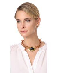 Lizzie Fortunato | Metallic Agate Treasure Necklace | Lyst