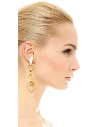 Lizzie Fortunato - Metallic Divine Eye Earrings - Lyst
