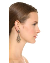 Lulu Frost | Metallic Odeon Statement Earrings | Lyst