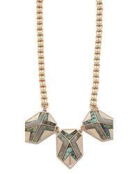 Lulu Frost - Metallic Trocadero Necklace - Lyst