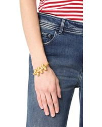 Madewell - Multicolor Chunky Ball Cuff Bracelet - Lyst