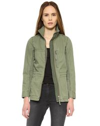 Madewell | Green Fleet Jacket | Lyst