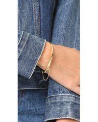 Madewell - Metallic Double Arc Bracelet - Lyst