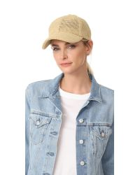 Madewell | Natural Paper Straw Baseball Hat | Lyst