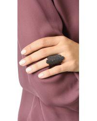Maha Lozi - Black Duchess Ring - Lyst