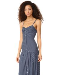 Mara Hoffman - Blue Maxi Dress - Lyst