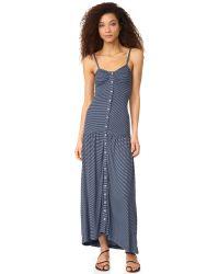 Mara Hoffman | Blue Maxi Dress | Lyst