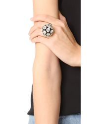 Marni | Multicolor Strass Ring | Lyst