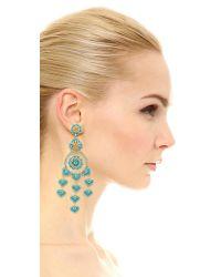 Miguel Ases | Multicolor Jasmine Earrings | Lyst