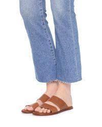 Matt Bernson - Brown Havana Slide Sandals - Lyst