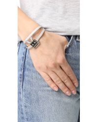McQ - Multicolor Electro Bunny Mini Bracelet - Lyst