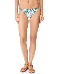 Mikoh Swimwear   Multicolor Lanai Loop Side Bikini Bottoms   Lyst