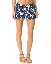 Mikoh Swimwear | Blue Kona Shorts | Lyst