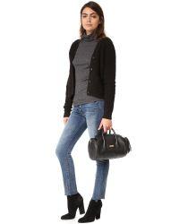 MILLY - Black Astor Mini Duffel Bag - Lyst