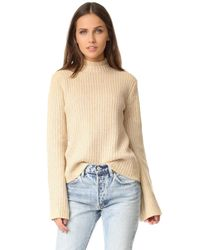 MINKPINK | Natural Northern Exposure Sweater | Lyst