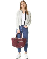 Marc Jacobs - Multicolor Chipped Stud Canvas Tote - Lyst