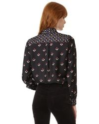 Marc Jacobs - Multicolor Button Up Shirt With Tie - Lyst