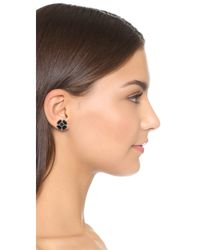 Marc Jacobs - Metallic Jet Night Cross Stud Earrings - Lyst