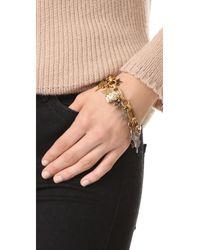 Marc Jacobs - Multicolor Statement Charm Bracelet - Lyst