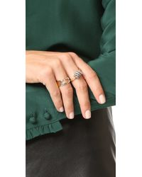 Marc Jacobs - Multicolor Icon Brand Ring - Lyst