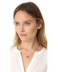 Marc Jacobs - Red Mj Coin Pendant Necklace - Lyst