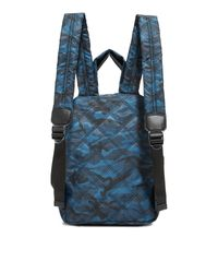 Marc Jacobs - Blue Camo Nylon Knot Backpack - Lyst