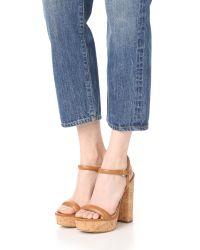 MICHAEL Michael Kors | Multicolor Dallas Platform Sandals | Lyst