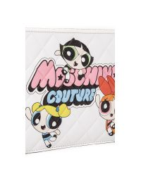 Moschino - White Quilted Clutch - Lyst