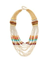 Nakamol | Metallic Rachel Statement Necklace | Lyst