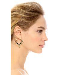 Noir Jewelry - Metallic Below Zero Earrings - Lyst